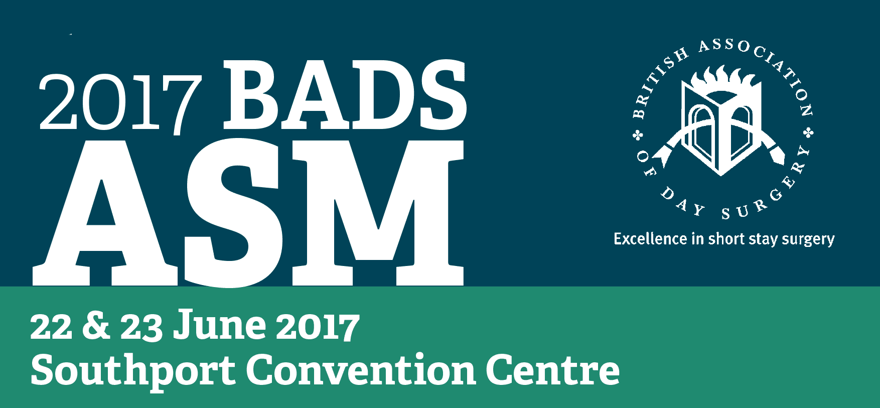 We're exhibiting at BADS 2017!