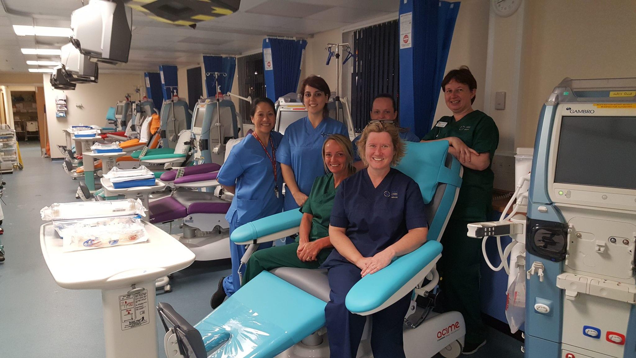 New Install at Morriston Hospital, Swansea